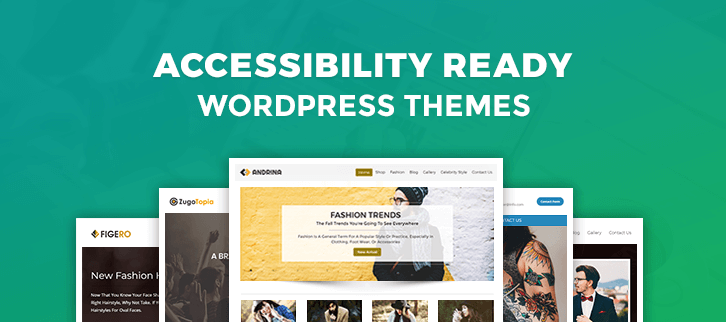 5 Accessibility Ready Wordpress Themes 2021 Formget