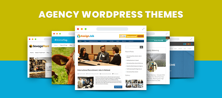 5+ Agency WordPress Themes 2018 (Free and Paid)