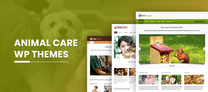 5+ Animal Care WordPress Themes 2019 (Free and Paid)