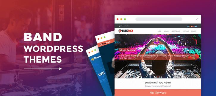 Band WordPress Themes