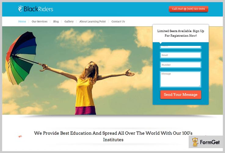 BlackRiders Multilingual WordPress Theme