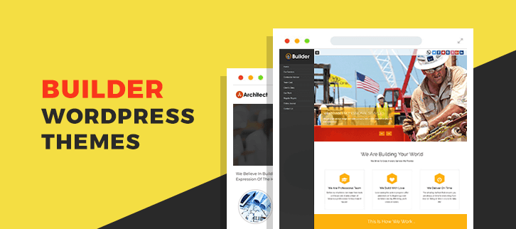 Builder WordPress Themes