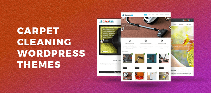 Carpet Cleaning WordPress Themes