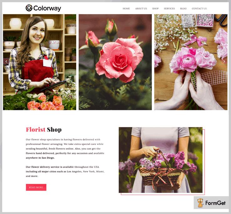 Colorway Open Source WrdPress Theme