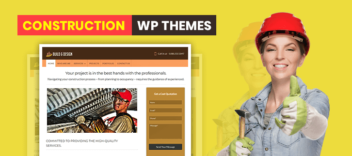 5+ Construction WordPress Themes 2018 (Free and Paid)