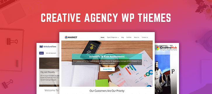 Creative Agency WordPress Themes