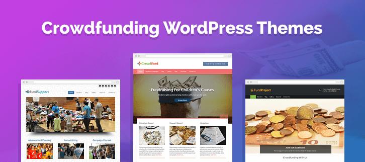 5+ Crowdfunding WordPress Themes 2018 (Free and Paid)