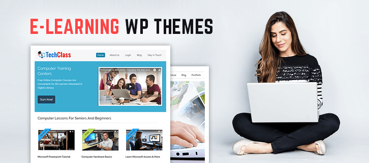 E-learning WordPress Themes