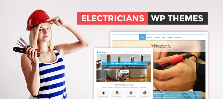 WordPress Themes For Electricians