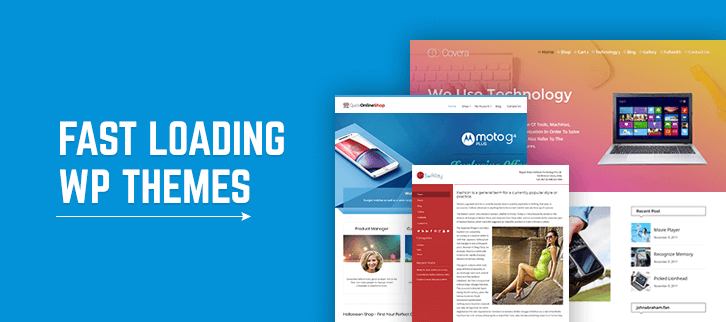 5+ Fast Loading WordPress Themes 2019 (Free and Paid)