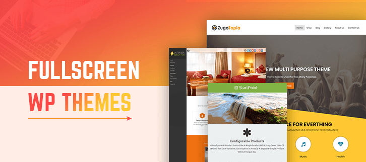 Fullscreen WordPress Themes
