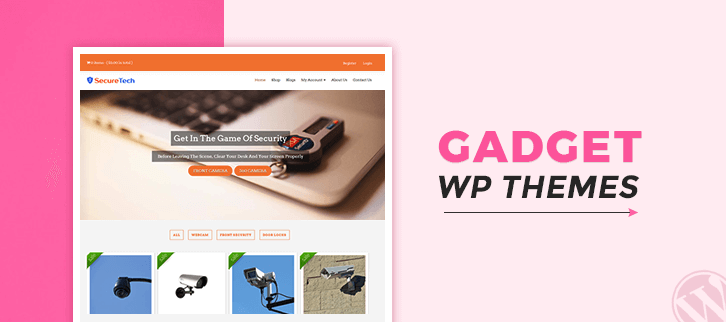 5+ Gadget WordPress Themes 2018 (Free and Paid)