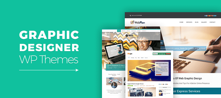 Graphic Designer WordPress Themes
