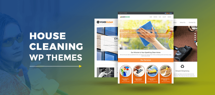 house cleaning wordpress theme
