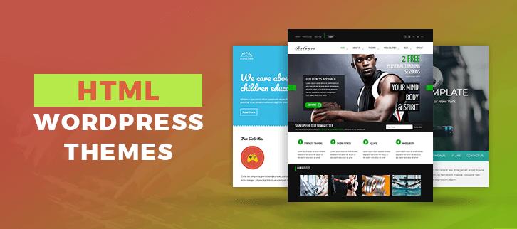 HTML WordPress Themes