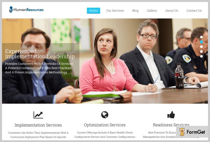 HR Human Resource WordPress Themes