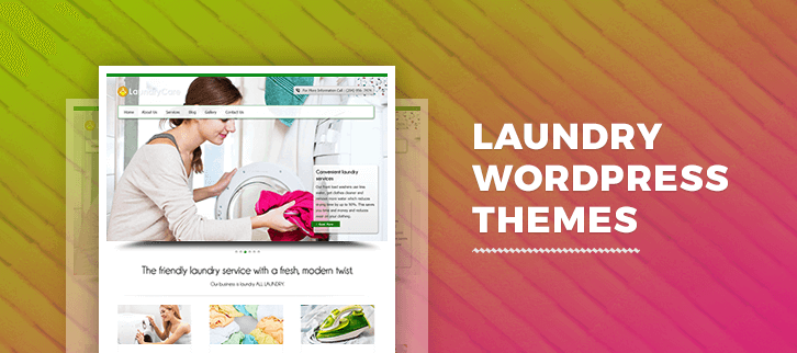 Laundry WordPress Themes