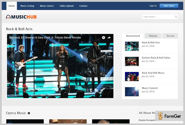 MusicHub Band WordPress Themes