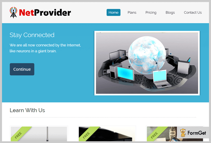 NetProvider Intranet WordPress Theme