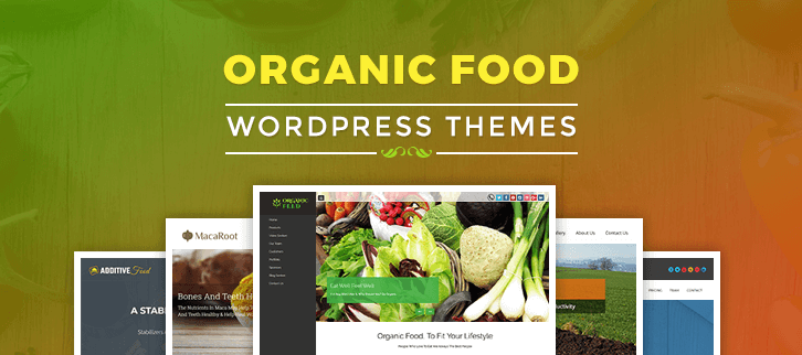 Organic Food WordPress Themes