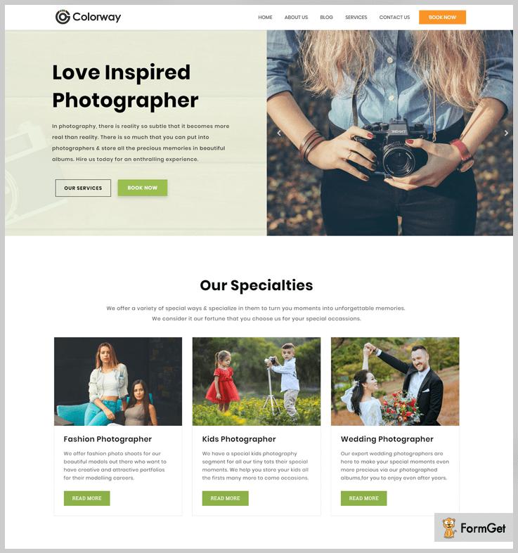 Colorway - Filmmaker WordPress Theme
