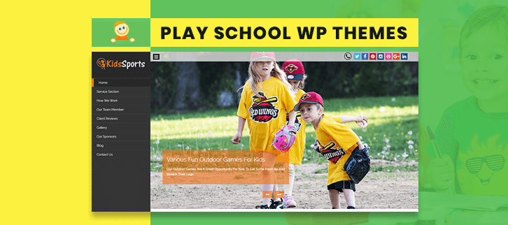 Play School WordPress Themes