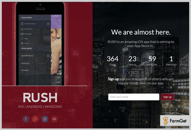 RUSH HTML WordPress Theme