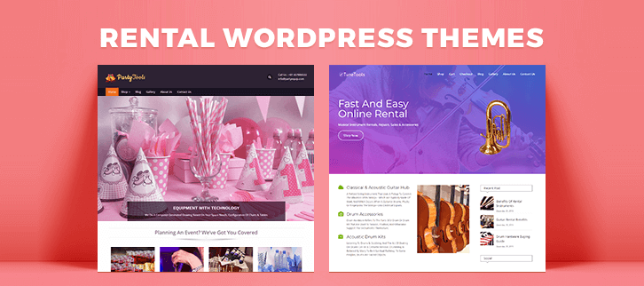 Rental WordPress Themes