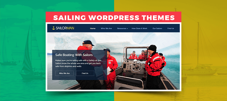 Sailing WordPress Themes