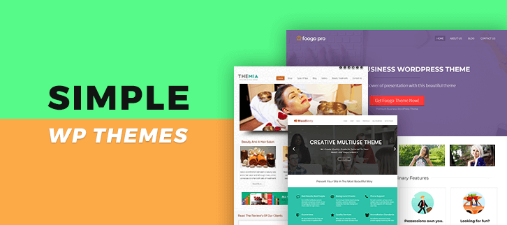 Simple WordPress Themes