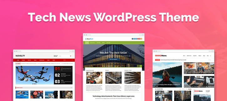 Tech News WordPress Themes