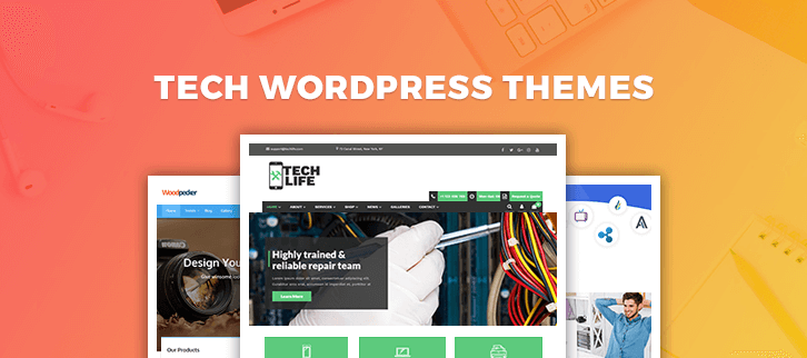 Tech WordPress Themes