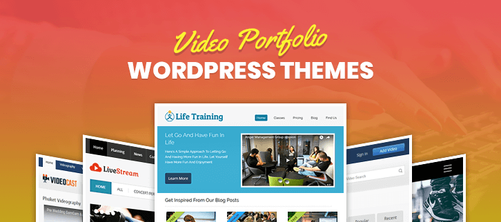 Video Portfolio WordPress Themes