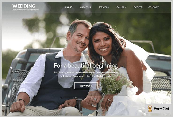 WeddingBand WordPress Theme