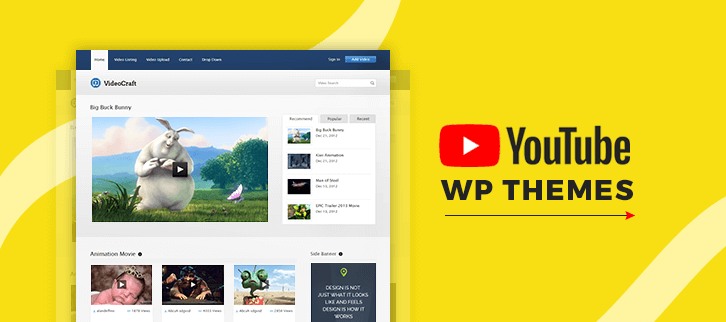 Youtube WordPress Themes
