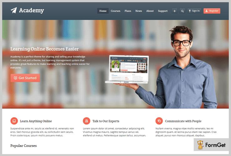 Academy LMS WordPress Themes