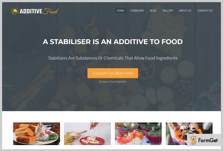 AdditiveFood Organic Food WordPress Theme