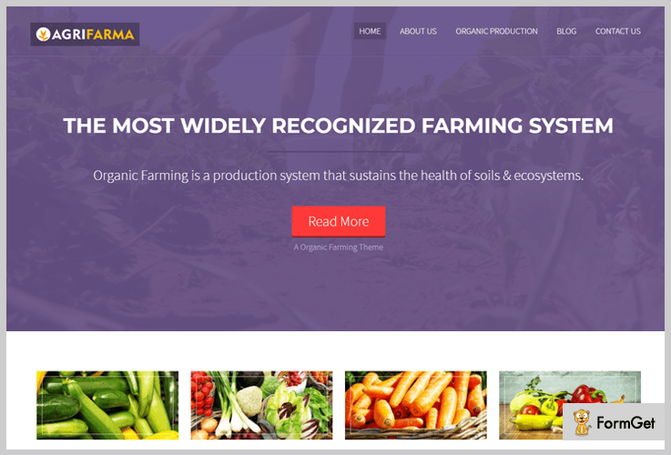 AgriFarma Agriculture WordPress Themes