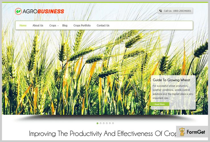 AgroBusiness Agriculture WordPress Themes