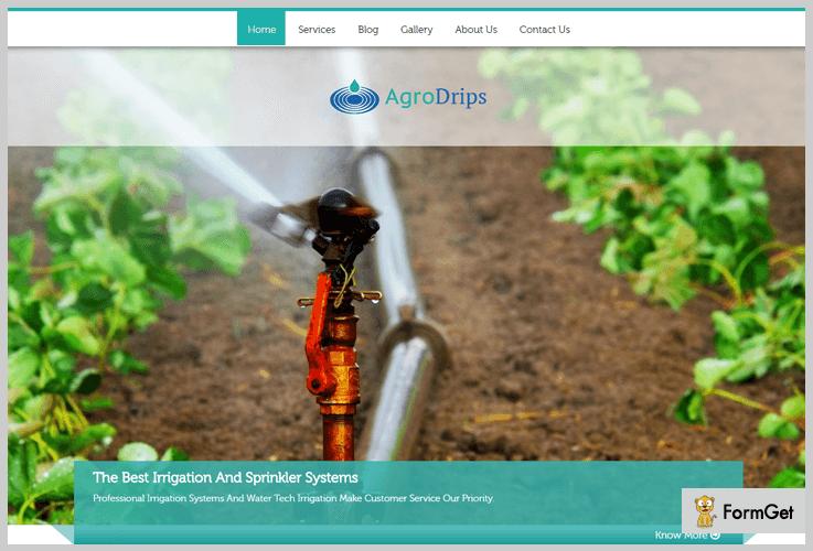 AgroDrip Agency WordPress Theme