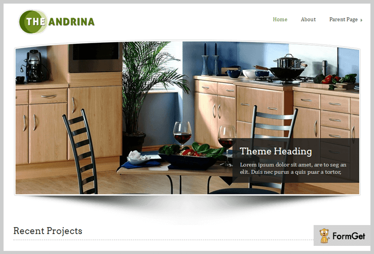Andrina Journalist WordPress Themes