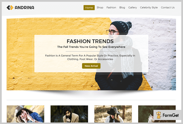 Andrina Magazine WordPress Themes