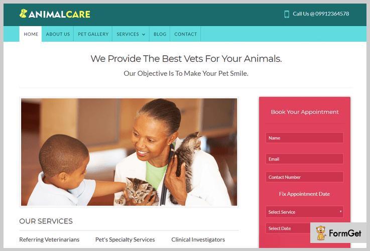 AbimalCare Veterinary WordPress Theme