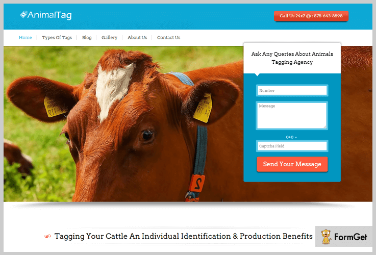 AnimalTag Agency WordPress Theme