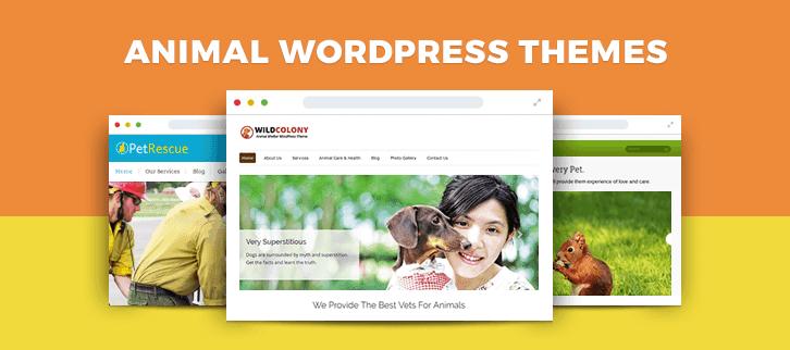 Animal WordPress Themes