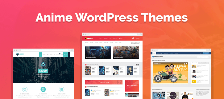 Anime WordPress Themes