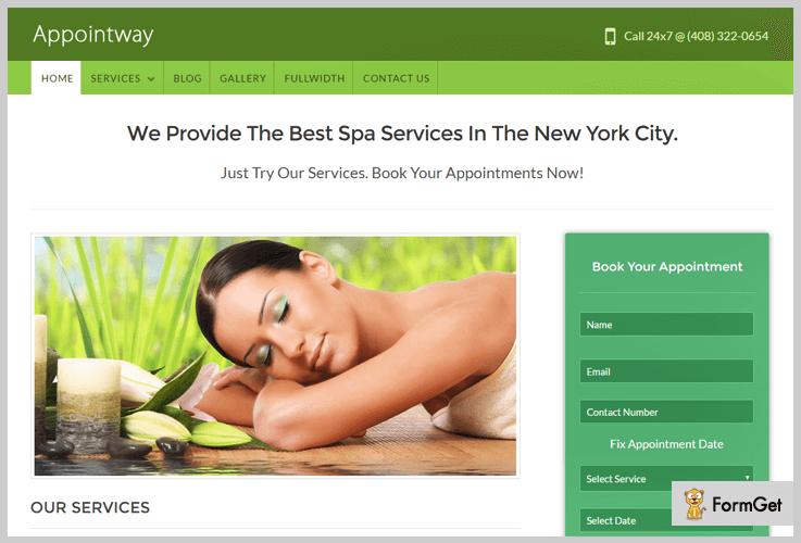 AppointWay Basic WordPress Theme