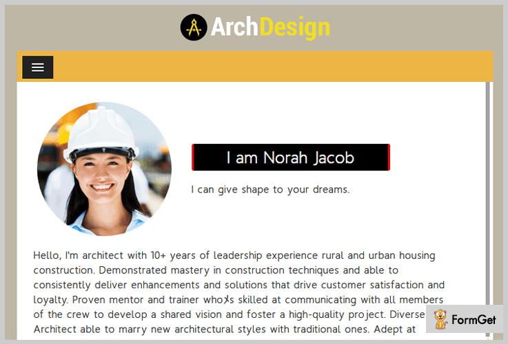 ArchDesign Builder WordPress Theme