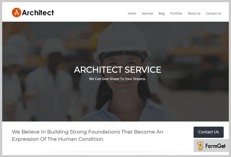 Architect Builder WordPress Theme