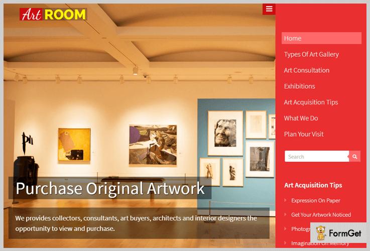 ArtRoom Image WordPress Theme